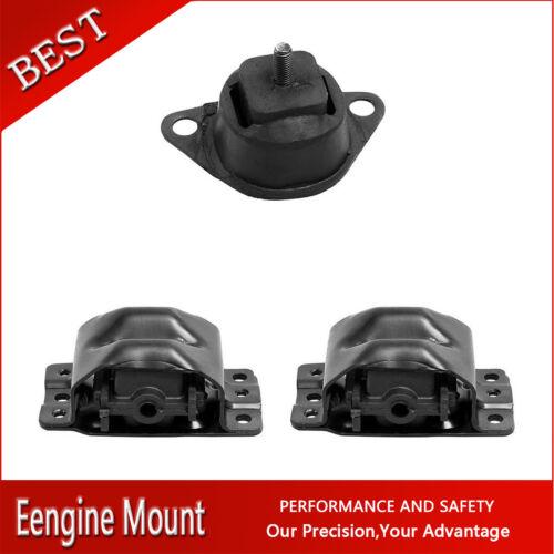 Westar-Manual Trans /& Engine Motor Mount Set 3X For 88-89 R2500 5.7L 350cid