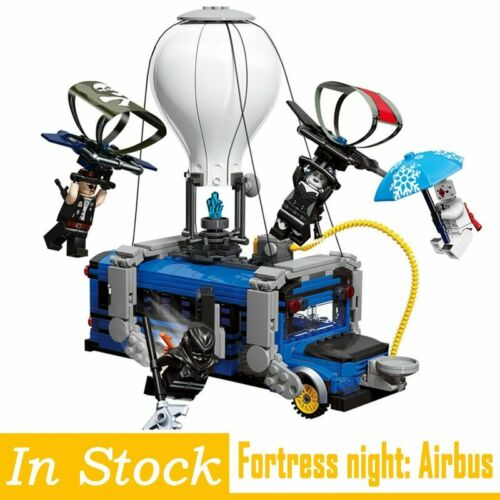 Fortress Night Blocks Toys Airbus Mini Movable Building Bricks Figures For Kids