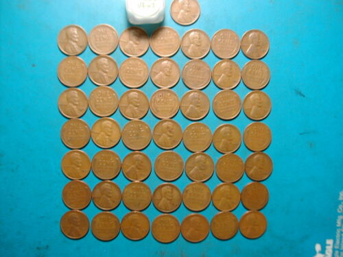 HIGH GRADE! Nice hard-to-get-roll VF-XF 1932-D LINCOLN WHEAT CENT PENNY ROLL