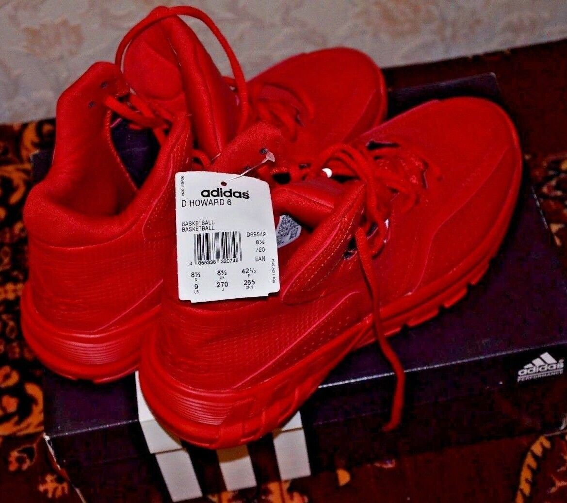 Adidas d howard 6 dwight howard männer - basketball - schuhe 9 (neu)