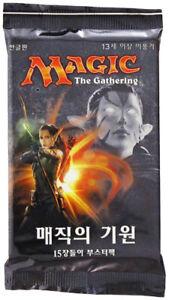 KOREAN Shadows over Innistrad Booster Pack SEALED NEW MAGIC MTG ABUGames