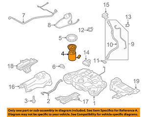 VOLVO OEM 08-14 XC70-Fuel Pump 31372883   eBay   Volvo Fuel Pump Diagram      eBay