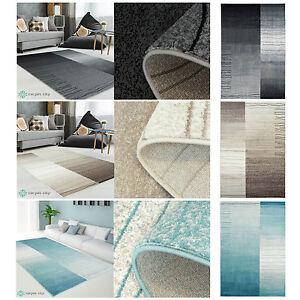 Entzuckend Das Bild Wird Geladen Teppich Modern Designer Wohnzimmer Inspiration  Sway Karo Grau
