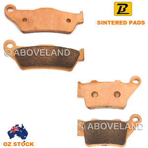 Front Rear Sintered Brake Pads for KTM Lc4 625 SC Supermoto 2002