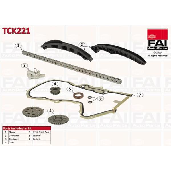FAI AutoParts Steuerkettensatz für Motorsteuerung TCK178