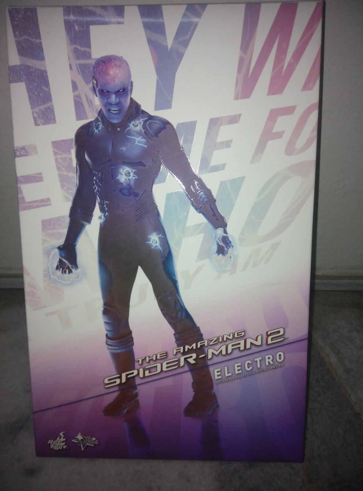 Hot Toys Electro The Amazing SpiderMan 2 Jamie Foxx Mint IN Box New MMS246 Beste