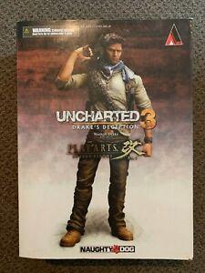 Uncharted 3 Play Arts Kai Series 1 Nathan Drake Action Figure Nib
