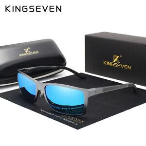 KINGSEVEN Brand Design Moda in alluminio magnesio di Occhiali da sole uomo Polarizzato