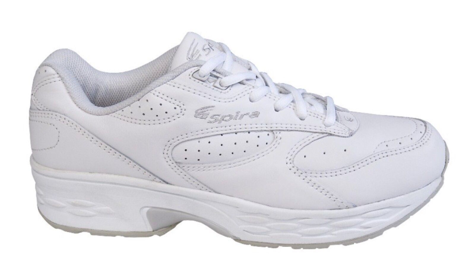 Spira Classic Leather Walking Shoe bianca Uomo Size 7  119