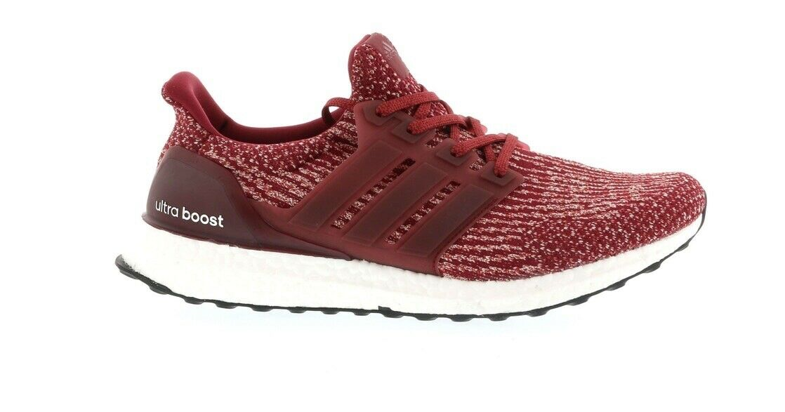 Adidas Ultra Boost 3.0 Collegiate Burgundy Running shoes BA8845 New Size 4