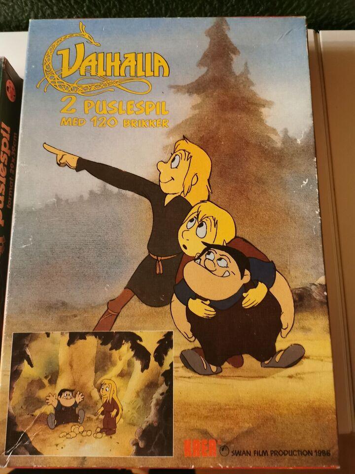 Trolderik og Valhalla, Børn, puslespil