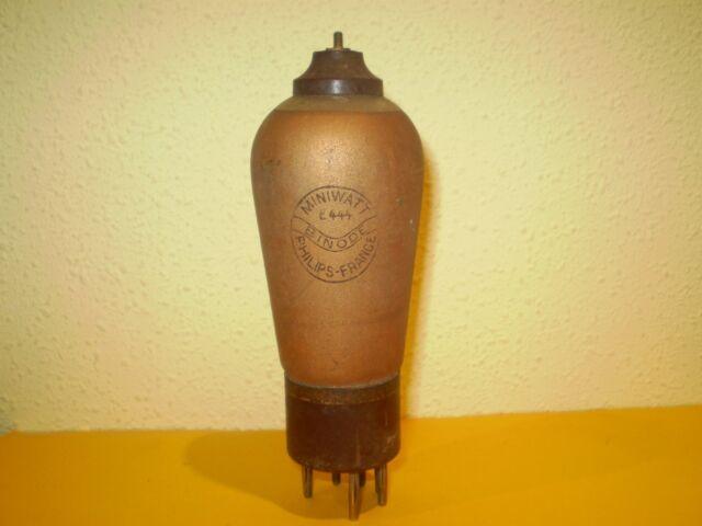 1 X E444-MINIWATT-USED-TESTED-TUBE.
