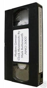 New-AWCI-Modern-German-Clock-Movement-Repair-Video-by-Mark-Butterworth-C-367