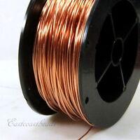 Copper Wire, 18 Gauge, Dead Soft, Copper Jewelry Wire, Craft Wire, 20 Feet, 004