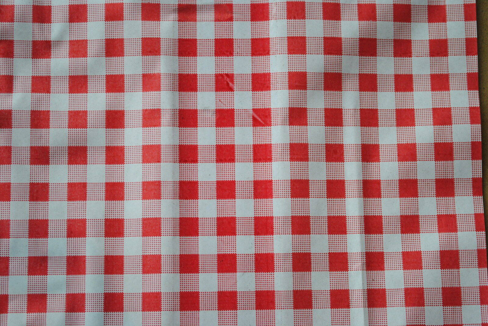 10kg x Gingham Duplex Sheets rot (10 x15 ins) BUTCHERS DELI CATERING MEAT (1149)