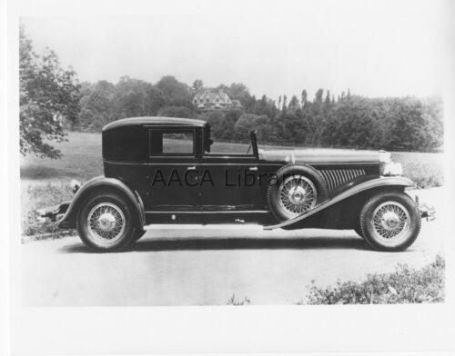 Ref. # 39301 1930 Duesenberg J Derham Town Car Factory Photograph