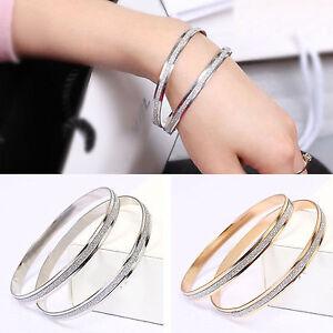 Fashion-Charm-Women-Crystal-Rhinestone-Gold-Plated-Cuff-Bracelet-Bangle-Jewelry