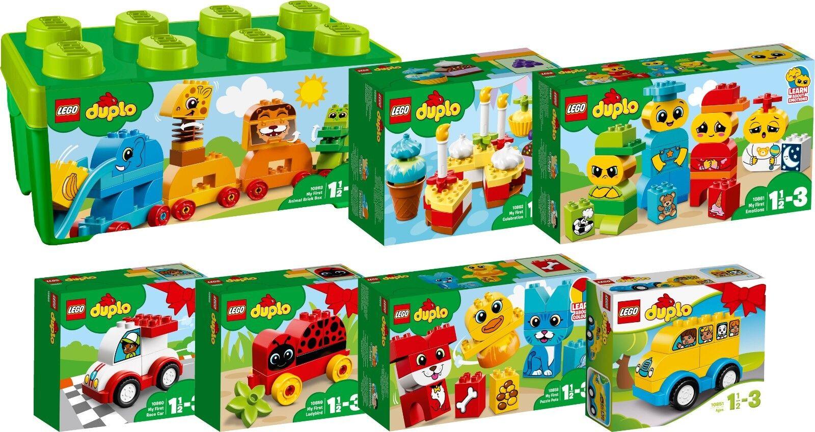 LEGO DUPLO Steine Box 10863 10862 10861 10860 10859 10858 10851 N1/18