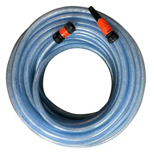 "Garden Lawn Water Hose 20M High Pressure 34"" 18MM Fitting 810 Kink Free"