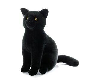 Plush & Company 15954 Peluche Gatto Nero H 30CM Black Cat Noir Chat
