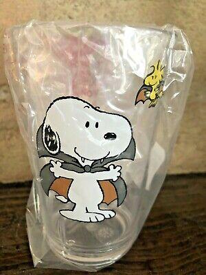 Pottery Barn Kids Snoopy Woodstock Halloween Tumbler Glass