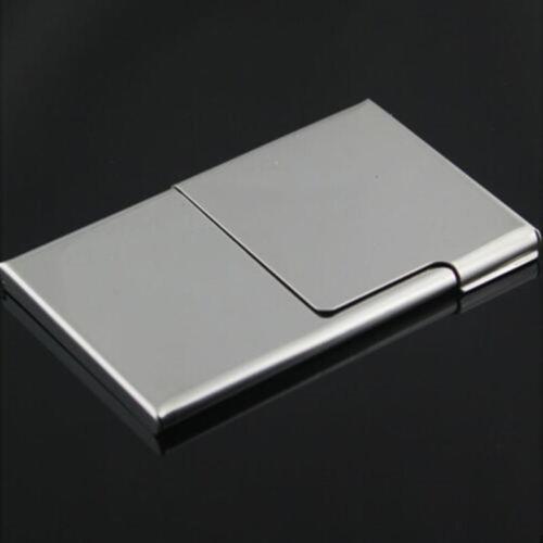 Kreditkartenetui Brieftasche Heiß Visitenkartenetui Edelstahl  Visitenkarten