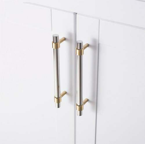Stainless Steel Drawer Pull Kitchen Cabinet Handles Modern Knob Cupboard Handles