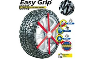 2x-MICHELIN-Chaines-neige-textiles-Easy-Grip-M14-008177-205-55R17