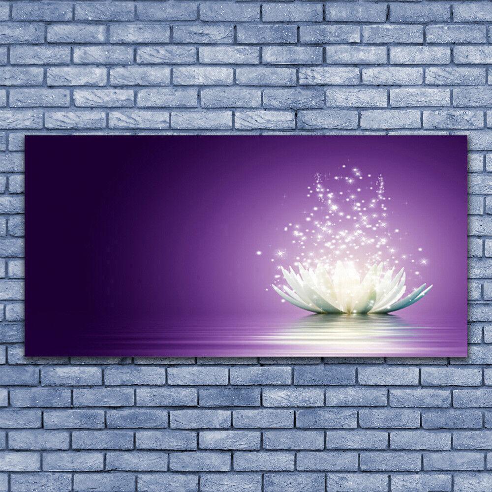 Acrylglasbilder Wandbilder aus Plexiglas® 140x70 Lotos Pflanzen