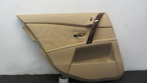 BMW-E60-530i-525i-545i-04-07-Door-Panel-Trim-Driver-Left-Rear