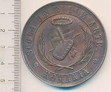 ROMANIA 1862 Belle ARTE Medal Theodor AMAN design ROMANIAN Honoris CAUSA AWARD