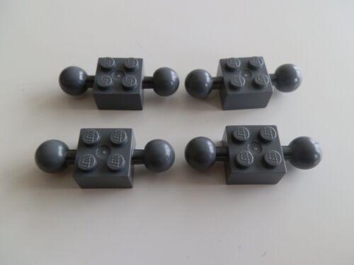 Lego 57908# 4x Technik Stein 2x2 grau neu dunkelgrau 2521 70726
