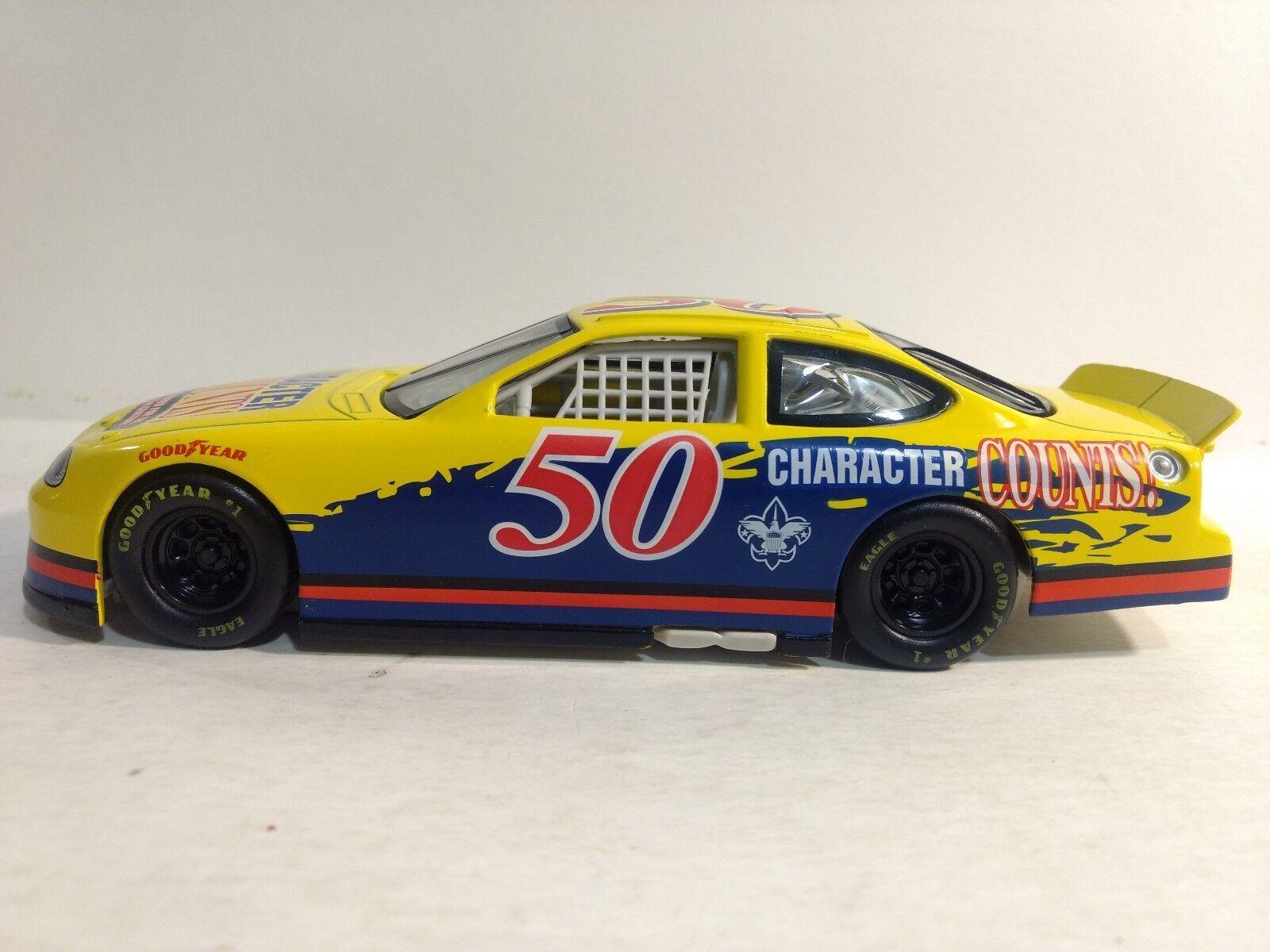 Raro Nascar Carta Conta Ford Taurus 1 24 Scala Diecast Mattel 1997 Dc2060