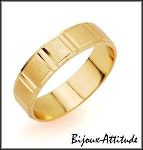 bague or 7 anneaux