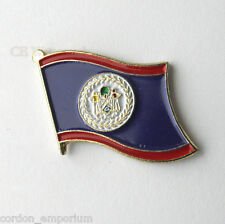 BELIZE NATIONAL COUNTRY WORLD FLAG LAPEL PIN BADGE 1 INCH