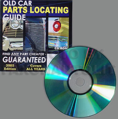 Nationwide Directory Find ANY Chrysler or Imperial Part Parts with this CD