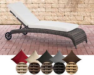 sonnenliege asti rollliege gartenm bel liege mit rollen gartenliege polyrattan ebay. Black Bedroom Furniture Sets. Home Design Ideas