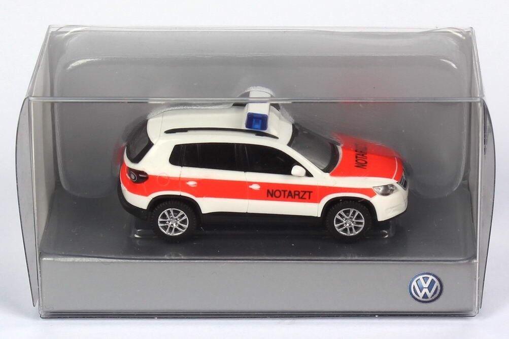 Seltene vw tiguan 5n tdi tsi 2007 notarzt deutscher arzt nach wiking (dealer - modell)
