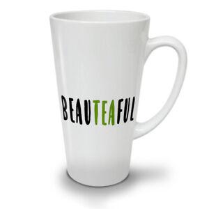 Beateaful Tea NEW White Tea Coffee Latte Mug 12 17 oz | Wellcoda