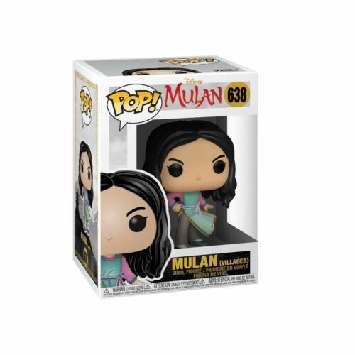 LIVE FUNKO POP DISNEY: MULAN - VILLAGER MULAN 638 46097 VINYL NEW IN STOCK
