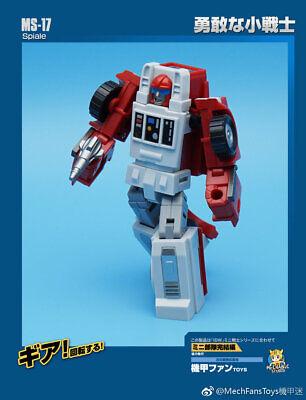 Mech Fans Toys Transformation MS16 Rocke//MS17 Spiale,In stock!