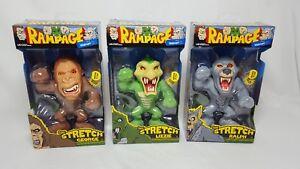 Rampage Super Stretch George Ralph Lizzie Exclusive Lot Arcade