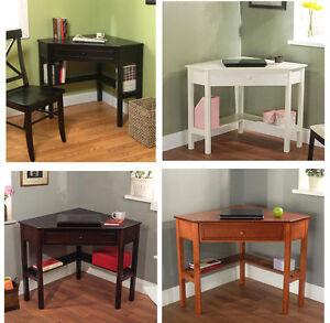 surprising corner office desk furniture | Corner Office Desk Home Laptop Table Workstation Computer ...