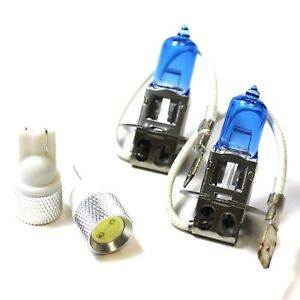 Iveco Daily H7 501 100w Super White Xenon HID Low Dip//LED Side Light Bulbs Set