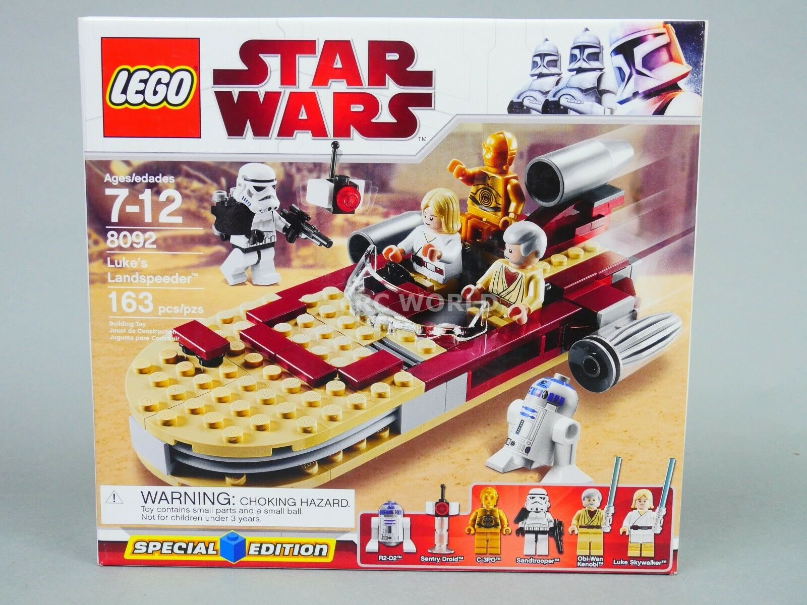 LEGO Star Wars LUKE'S LAND SPEEDER 80927 (163 pcs)  rk1t