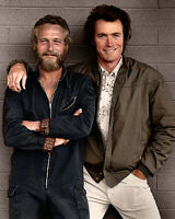 Clint Eastwood and Paul Newman Pals 10x8 Photo