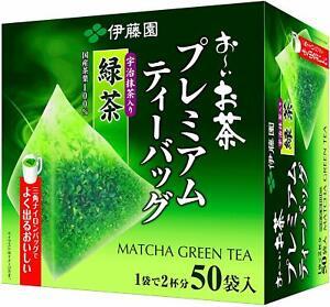 Itoen-Japanese-Ryokucha-Green-tea-Matcha-Blend-Premium-tea-bag-50-bags-s0449