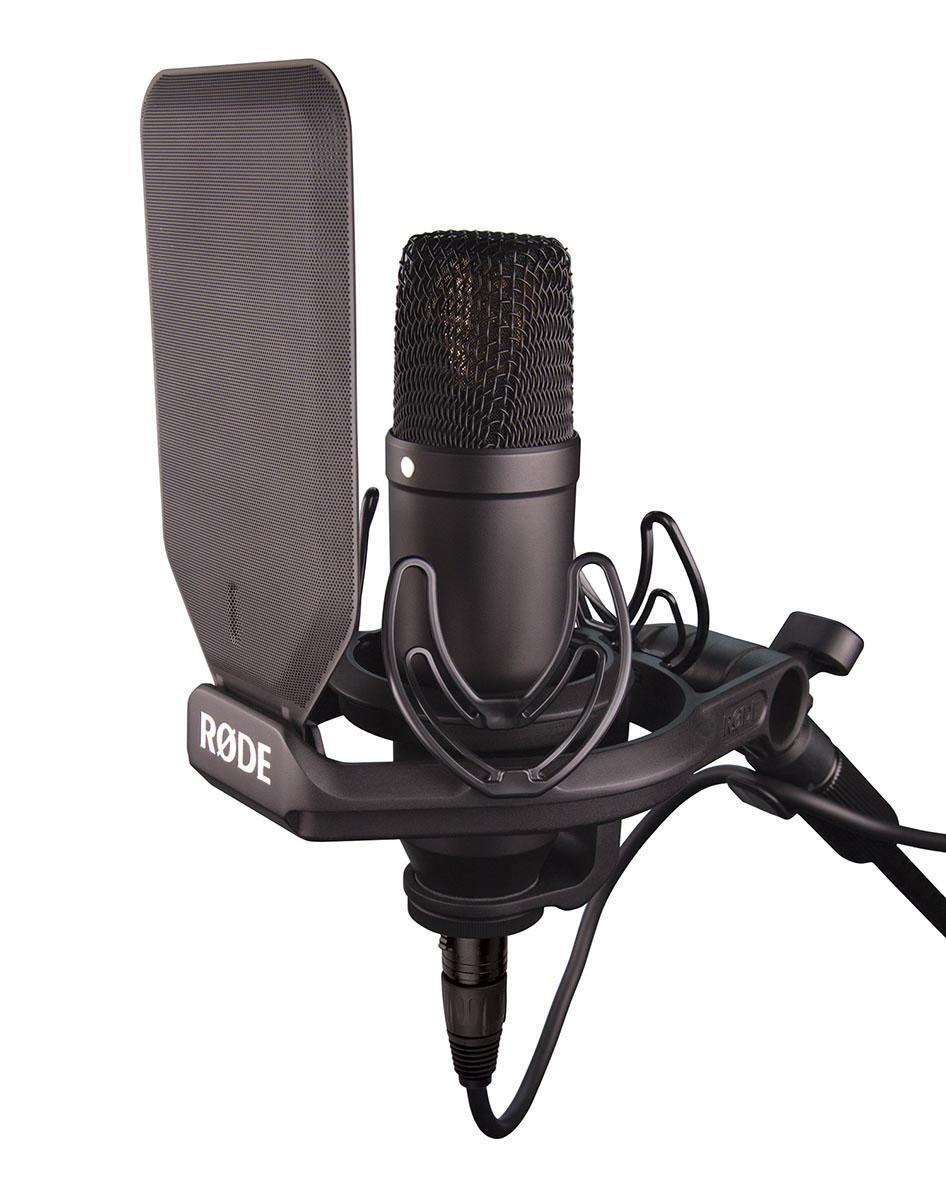 grandi risparmi Rode nt1-kit studio grande membrana condensatore microfono microfono microfono con ragno e popschutz  ultimi stili