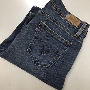 Levi-039-s-529-Jeans-Women-039-s-Size-12-Curvy-Boot-Cut-Medium-Wash-Mid-Rise