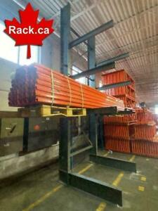 Canadas Largest Stock Of Cantilever Racking  - We Ship All Over Canada - Our Service Can Not Be Duplicated Ontario Preview